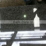 Wear proof scratching resistant black galaxy granite slab price