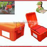 pizza delivery box for scooter with high-grade keys and locks                                                                         Quality Choice