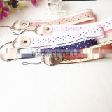 hot short lanyard for mobile phone/colorful keychain