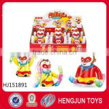 Funny baby toys good quality bottle candy toys for kids candy flip the monkey 6pcs