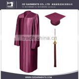 Factory Directly Provide High Quality University Customized Graduation Gown
