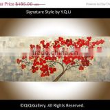 Heavy Texture Abstract Flower Oil Painting yiwu art painting
