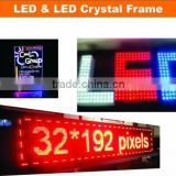 Manufacturing led acrylic writing board neon light transparent acrylic led writing board