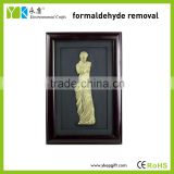 Wholesale high quality famous figure Venus hand made wood craft home wall decorations