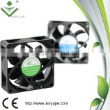xinyujie low noise 70*70*25mm 12/24v 12v dc ventilation fan heater dc fan fans for car interior