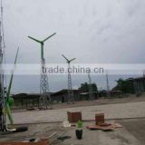Horizontal Axis 5kw Wind Turbine Wind Power Generator Wind Generator System with Patented Technologies with CE ISO Certificate
