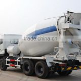 Volumetric portable mixer could mount on a trailer of on a tandem axle cab and chassis,3-16m3 concrete mixer truck