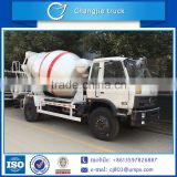 Factory sale new design top quality Q345/16Mn customized CCC ISO SGS BV approved 4x2 dongfeng 6 cubic meters cement mixer truck