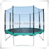 Fourstar wholesale 12FT PVC trampoline tuv certificated trampoline with safety net and ladder