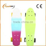 Aluminum truck cheep price plastic skateboard