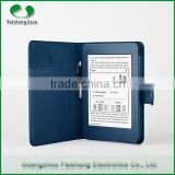 2015 Factory Price Lychee Pattern PU leather Case for Kindle Paperwhite