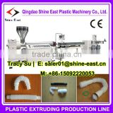 PVC Plastic drain pipe machine / washing machine plastic flexable hose machine / closestool pipe making machine
