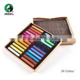 24 colors artist soft pastel for hair chalk