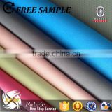 PA coated micro peach skin fabric for school bag/polyester microfiber fabric/shoulder bag fabric