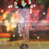Hot Sale Spiral Chandelier Wedding tabletop decoration Centerpiece Acrylic Crystal Diamond Flower Stand