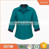 Manufacturer for ladies formal shirt design