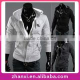 Brand New Mens Sports Knitting Slim Fit Sweatshirt Gym Zipper Hoodie Hoodies Zip