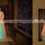 Sincere Turquoise Australian Silk Designer Lehenga Choli/indian lehenga online shopping