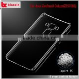 Biaoxin factory direct price crystal clear case hard plastic case cover for asus zenfone