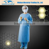 Nonwoven Doctor Hospital Gowns For Sale Disposable Green Sterile Disposable Surgical Gown