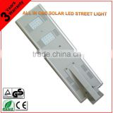New Product!!!With Sensor Control Energy Saving Bridgelux 40W All In One Solar LED StreetLamp
