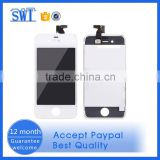 Foxconn original touch screen cell phone spare parts for iphone 4g lcd digitizer assembly for repairing