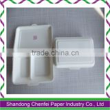 Disposable Biodegradable Bagasse Food Container