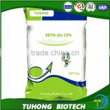 Water soluble organic chelation microelement EDTA Zn fertilizer for improving crop quality