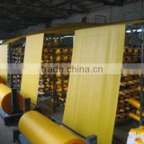 2016 yellow color pp woven sack rolls