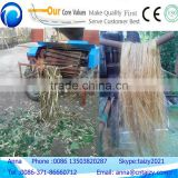 Good service after sale hemp jute flax fiber peeling machine