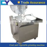 stainless steel industry ginger garlic paste making machine/fruit and vegetable grinding machine with low price