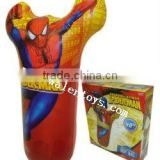 speder man inflatable punching bag for kids