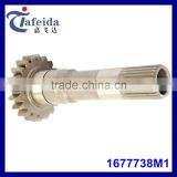 PTO Pinion Drive Shaft for Massey Ferguson, MF Tractor Parts, Transmission Components, 1677738M1, 20T/25 Spline, PTO Input Shaft