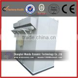 Efficient Clear Ash Industrial Bag Dust Collector Windely Used In Industrial Air Filtering