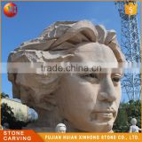 Modern Design Lady White Marble Female Bust Statue