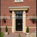 weather resistant and rust proof fiberglass door