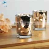 China supply star pattern bling cup shaped crystal craft
