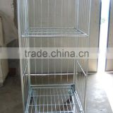 Foldable supermarket roll container