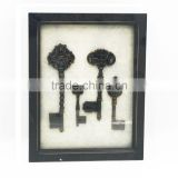 Wholesale antique traditional picture frame shadow wood box wall art decor