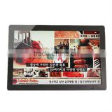 19 inch lcd ad player car multimedia system