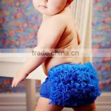 Hot sale! Cute Chiffon ruffled Baby Bloomer ,Diaper Cover with Cute Chiffon,ruffled pants
