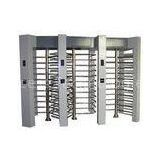Smart Three Lane Full Height Turnstiles Building Security Entry System Custom Barrier Gate