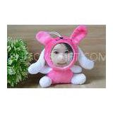 Kids / Children present Plush Studded 3D Face Dolls Rabbit toys gift , Personalized size