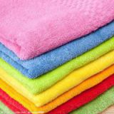 In bamboo fiber towel