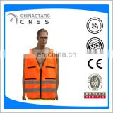 multi function pockets safety vest