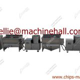 Small Scale French Fries Production Line Making Machine