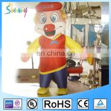 2017 inflatable custom shape balloon/customized inflatable jester/2.5m inflatable clown