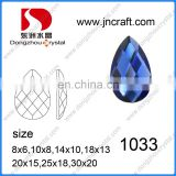 DZ-1033 crystal ab color flat back glass stones for jewelry