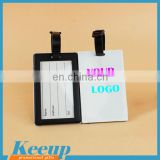 Eco-friendly Durable Airline Paper Baggage Tag Plastic Wholesale Luggage Tags