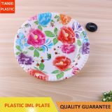 TX0319 PLASTIC LARGE SIZE ROUND PLATE CHEAP PLATE FOOD PLATE